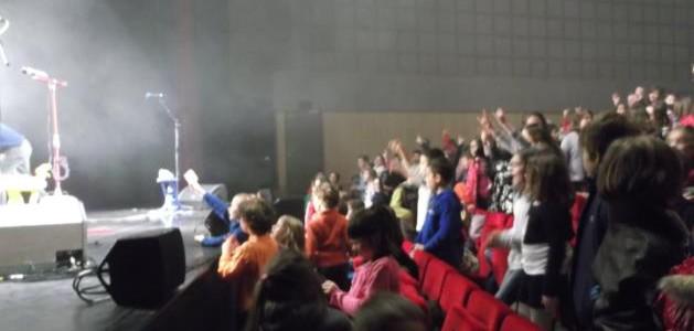 Le concert de Rock'n Roll des Wackids