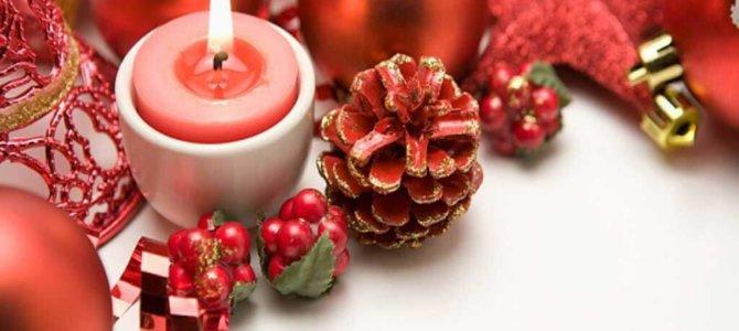 Décorations de Noël réalisées par les maternelles